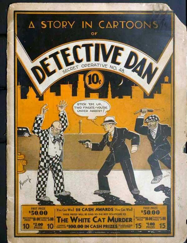 Історія супермена, комікс супермен, Detective Dan: Secret Operative No. 48.