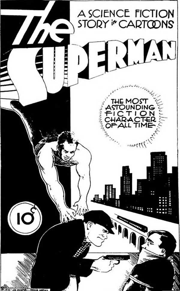 Science Fiction: The Advance Guard of Future Civilization, комікси про супермена, superman comics