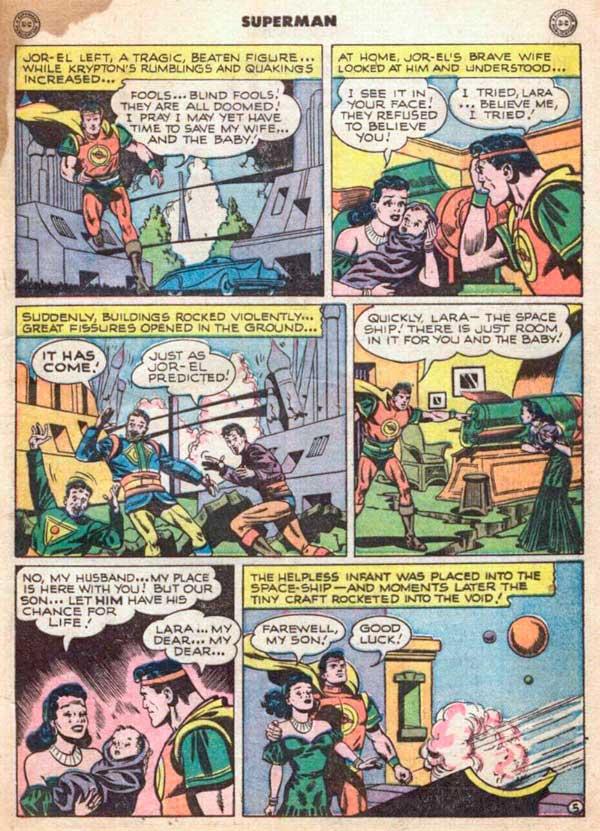 Jor-El, комікси про Супермена, история Superman, комікси про Супермена