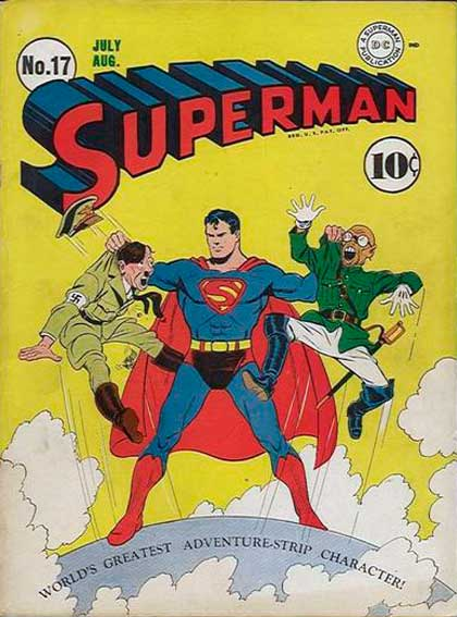 Superman # 17, Superman, комікси про Супермена, история комиксов Superman