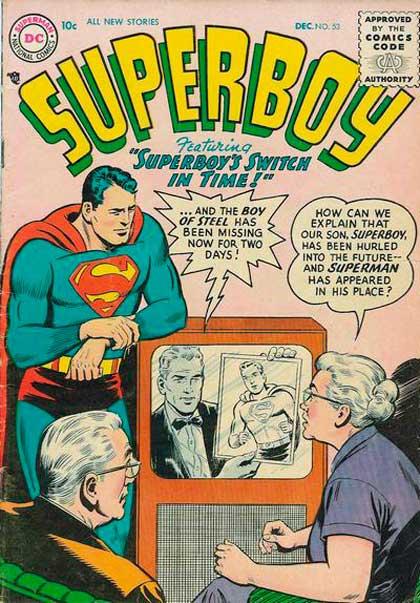 Superboy Vol 1 53, комікси про супермен, супербой, superboy