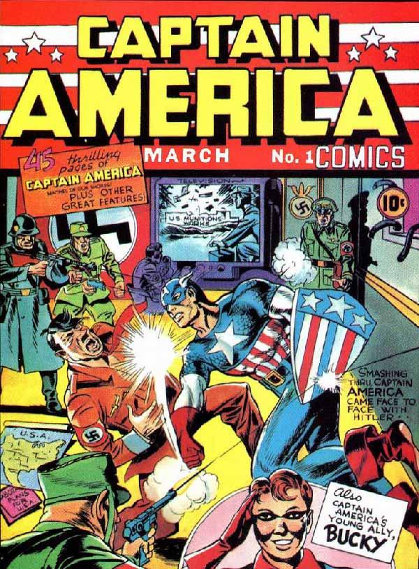 Captain America Comics #1, marvel комікс, комікси на українській