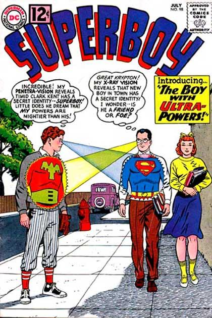 Superboy Vol 1 #98, comics superman, супермен комікси
