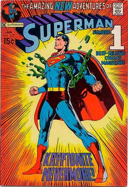 Superman#233, комікси про супермена, дс комікс