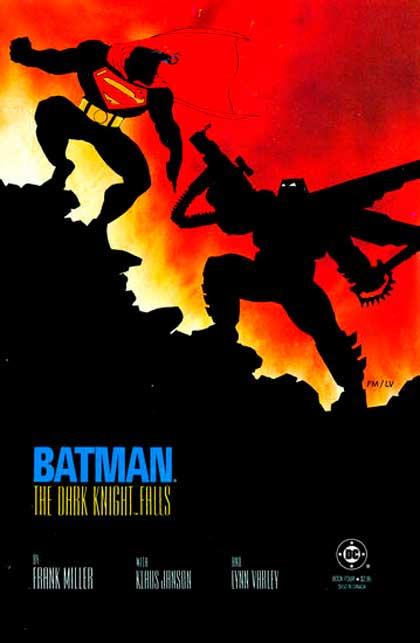 The Dark Knight Return, Batman v Superman, комікси