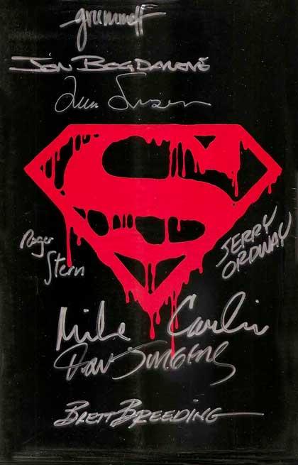 Superman (vol. 2) # 75, comics superman, супермен комікси, смерть супермена