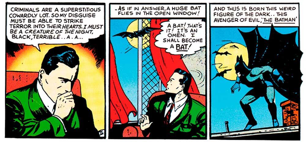 Batman, історія Бетмена, комиксы про Бетмена
