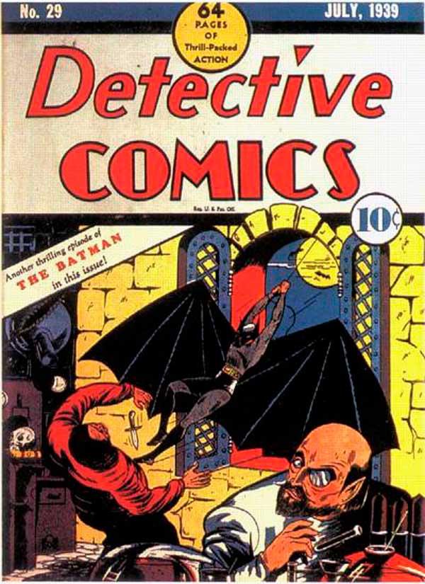 Detective Comics #29, Бетмен