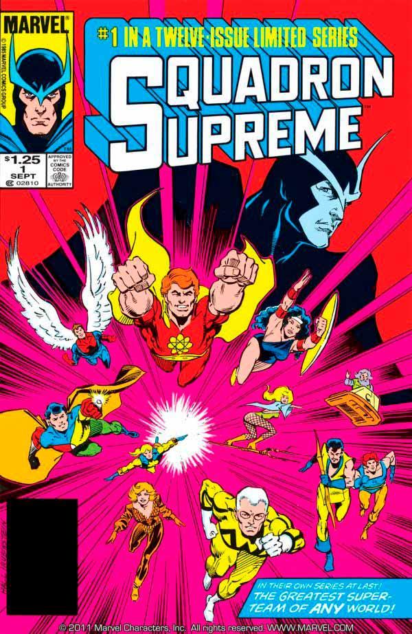 Squadron Supreme, marvel комікс, комікси на українській