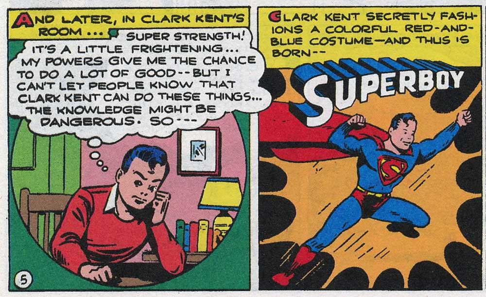 More Fun Comics #101, Супербой, Супермен, історія Супермена, superboy