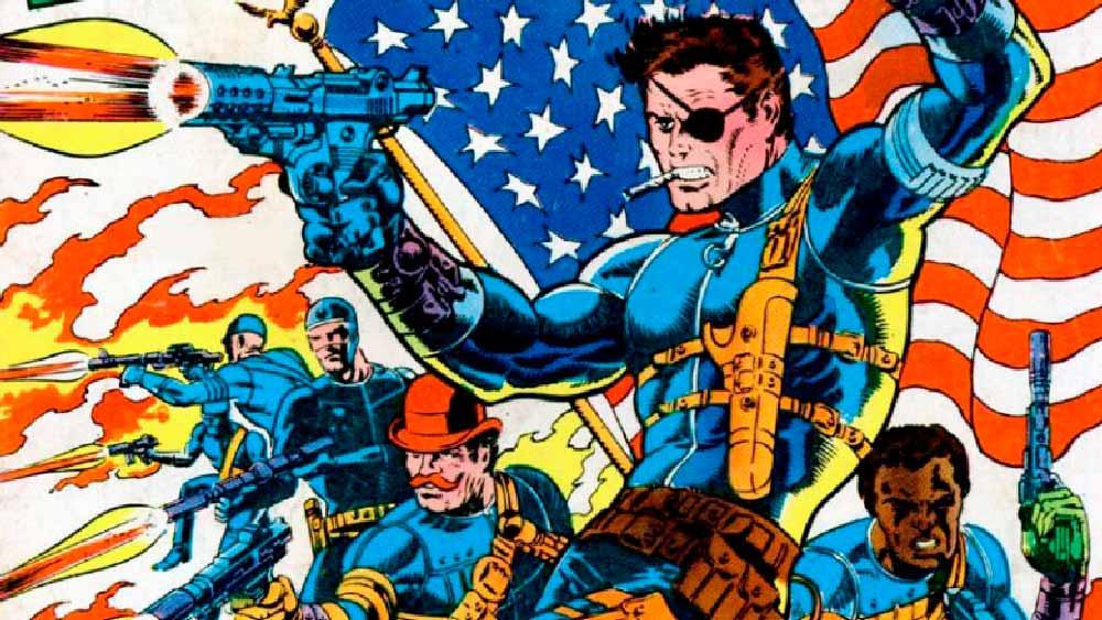 Nick Fury, marvel комікс, комікси на українській, Ник Фьюри