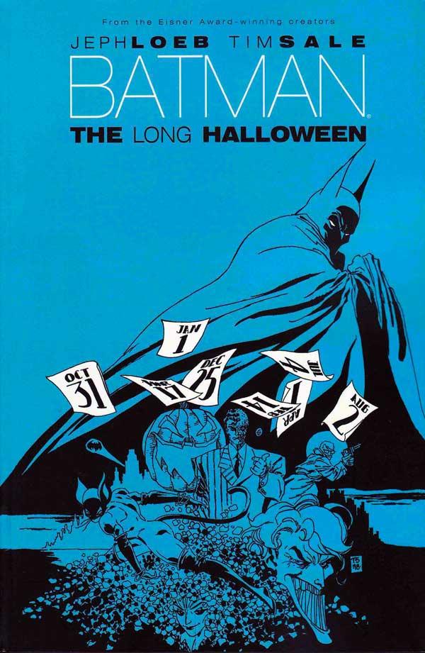 Batman: The Long Halloween, Бетмен Довгий Хеллоуін, комікси про бетмена
