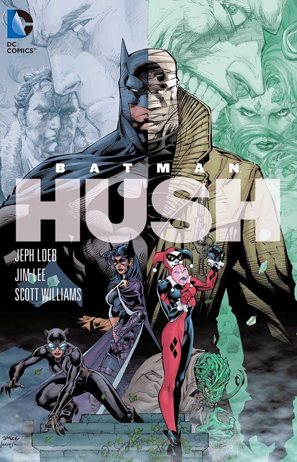 Batman: Hush, Бетмен Тихо, Бетмен Цить, комікси про Бетмена