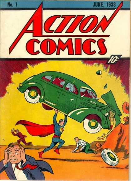 Action Comics #1, історія коміксів укранїнською, история комиксов