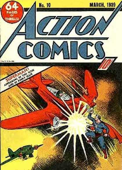 Action Comics #10, історія коміксів укранїнською, история комиксов