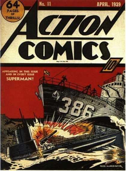 Action Comics #11,історія коміксів укранїнською, история комиксов, экшн комиксы история