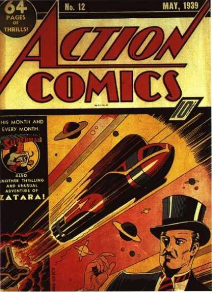 Action Comics #12,історія коміксів укранїнською, история комиксов, экшн комиксы история