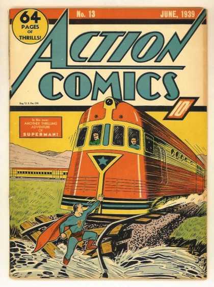 Action Comics #13, історія коміксів укранїнською, история комиксов, экшн комиксы история