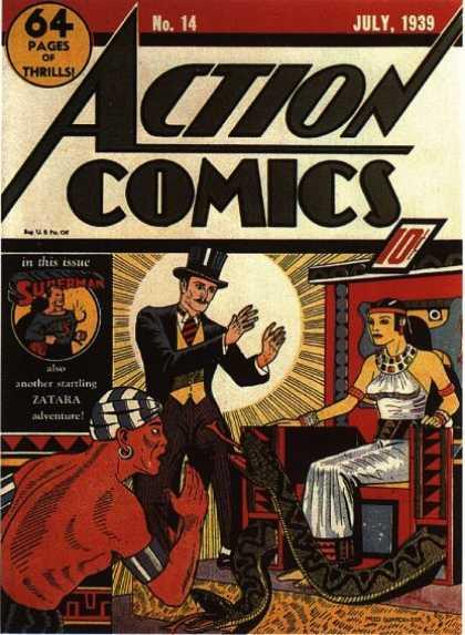 Action Comics #14, історія коміксів укранїнською, история комиксов, экшн комиксы история
