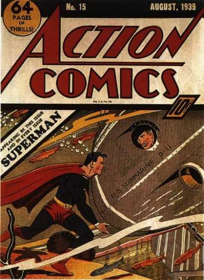 Action Comics #15, історія коміксів укранїнською, история комиксов, экшн комиксы история