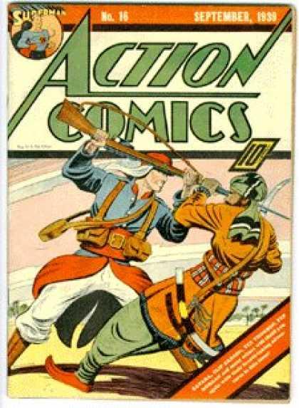 Action Comics #16, історія коміксів укранїнською, история комиксов, экшн комиксы история