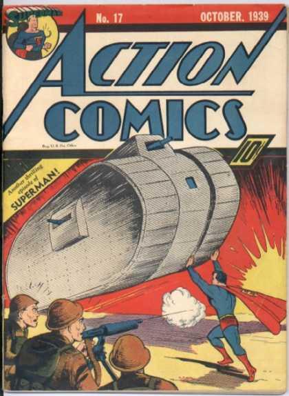 Action Comics #17, історія коміксів укранїнською, история комиксов, экшн комиксы история