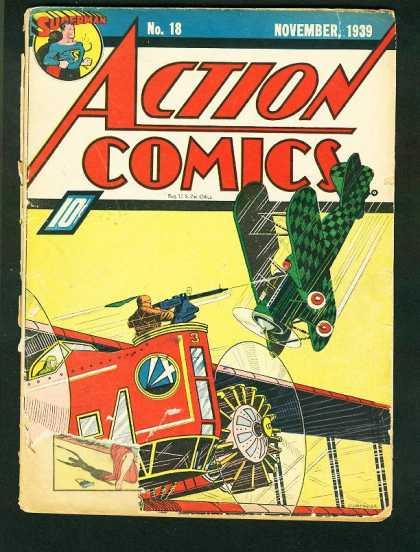 Action Comics #18, історія коміксів укранїнською, история комиксов, экшн комиксы история