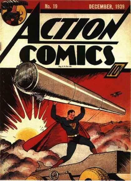 Action Comics #19, історія коміксів укранїнською, история комиксов, экшн комиксы история