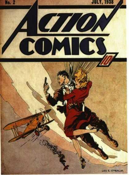 Action Comics #2, історія коміксів укранїнською, история комиксов