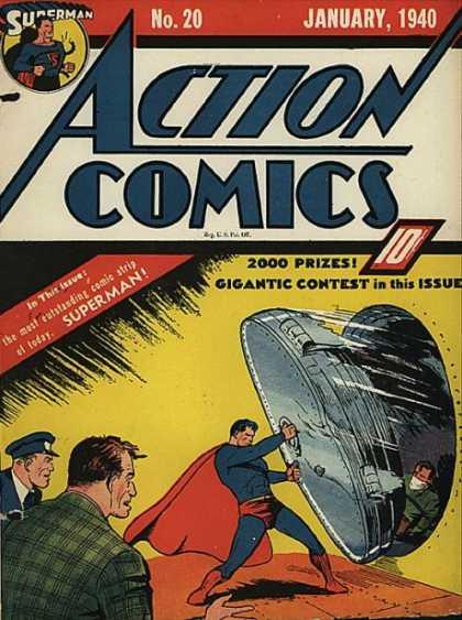 Action Comics #20, історія коміксів укранїнською, история комиксов, экшн комиксы история