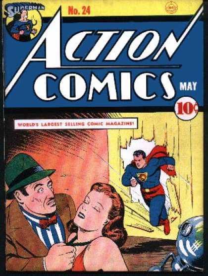 Action Comics #24, історія коміксів укранїнською, история комиксов, экшн комиксы история