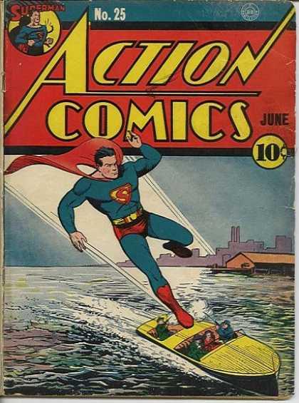Action Comics #25, історія коміксів укранїнською, история комиксов, экшн комиксы история