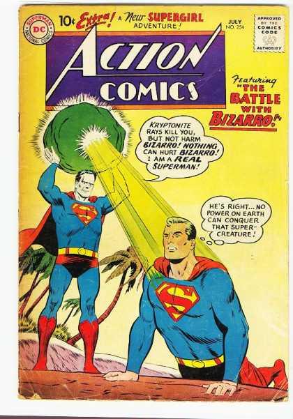 Action Comics #254, срібний вік коміксів, історія коміксів укранїнською, история комиксов, экшн комиксы история