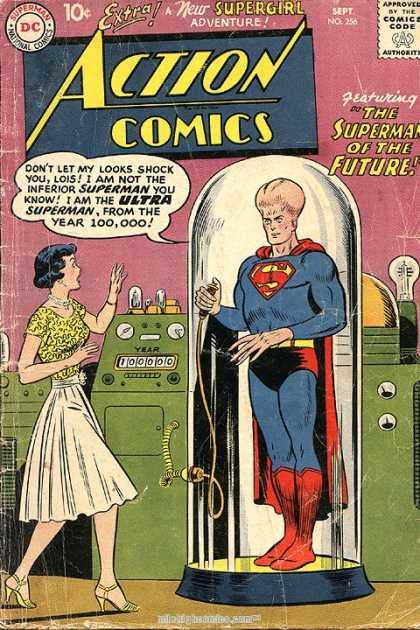 Action Comics #256, срібний вік коміксів, історія коміксів укранїнською, история комиксов, экшн комиксы история