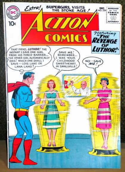Action Comics #259, срібний вік коміксів, історія коміксів укранїнською, история комиксов, экшн комиксы история