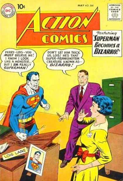 Action Comics #264, історія коміксів укранїнською, история комиксов, экшн комиксы история, сребный век комиксов
