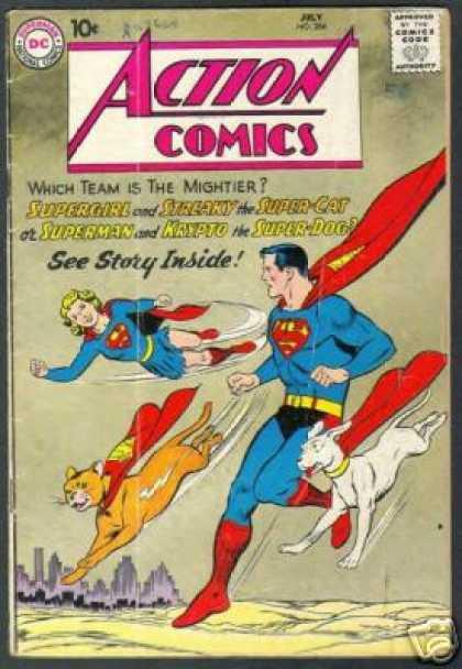 Action Comics #266, історія коміксів укранїнською, история комиксов, экшн комиксы история, сребный век комиксов