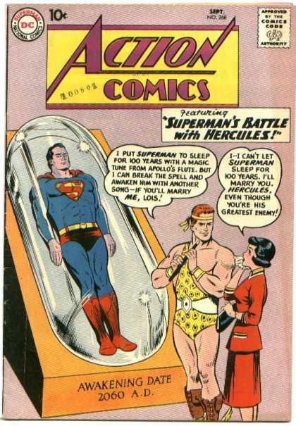 Action Comics #268, історія коміксів укранїнською, история комиксов, экшн комиксы история, сребный век комиксов