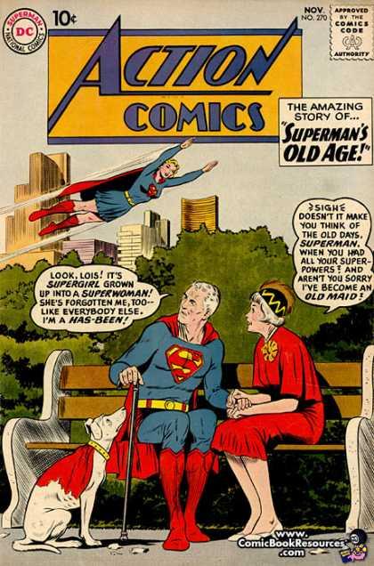 Action Comics #270, історія коміксів укранїнською, история комиксов, экшн комиксы история, сребный век комиксов