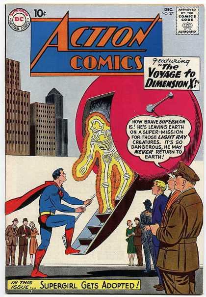Action Comics #271, історія коміксів укранїнською, история комиксов, экшн комиксы история, сребный век комиксов