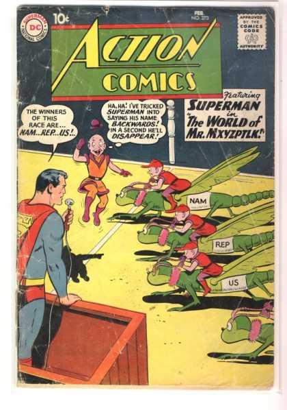 Action Comics #273, історія коміксів укранїнською, история комиксов, экшн комиксы история, сребный век комиксов