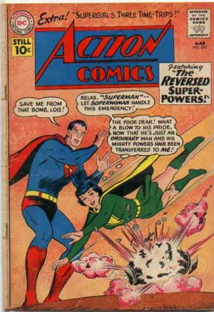 Action Comics #274, історія коміксів укранїнською, история комиксов, экшн комиксы история, сребный век комиксов