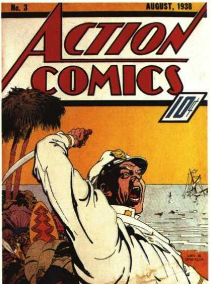 Action Comics #3, історія коміксів укранїнською, история комиксов