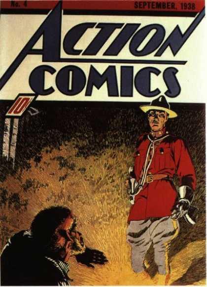 Action Comics #4, історія коміксів укранїнською, история комиксов