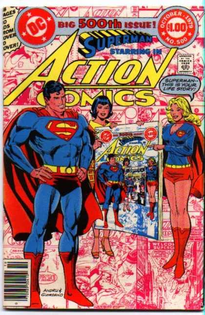 Action Comics #500, історія коміксів укранїнською, история комиксов, экшн комиксы история, бронзовый век комиксов