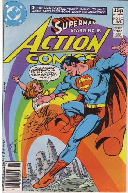 Action Comics #503, історія коміксів укранїнською, история комиксов, экшн комиксы история, бронзовый век комиксов