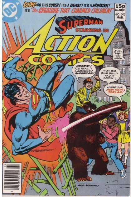Action Comics #505, історія коміксів укранїнською, история комиксов, экшн комиксы история, бронзовый век комиксов