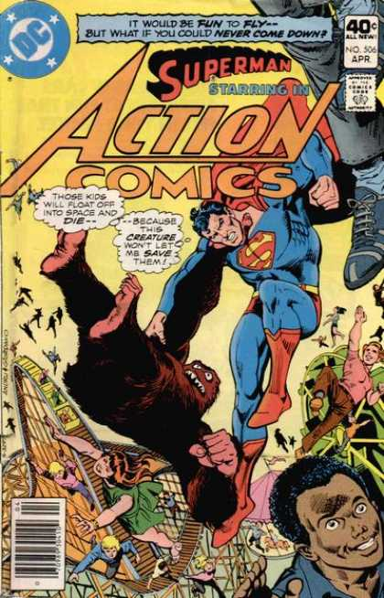 Action Comics #506, історія коміксів укранїнською, история комиксов, экшн комиксы история, бронзовый век комиксов