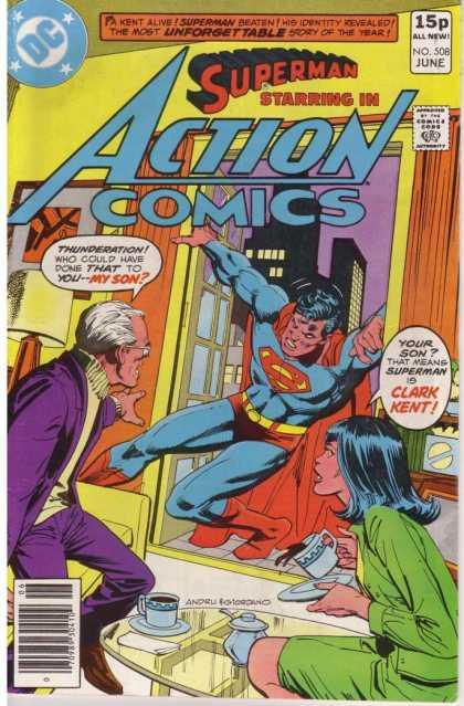 Action Comics #508, історія коміксів укранїнською, история комиксов, экшн комиксы история, бронзовый век комиксов