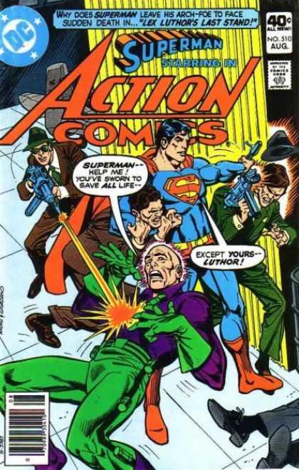 Action Comics #510, історія коміксів укранїнською, история комиксов, экшн комиксы история, бронзовый век комиксов